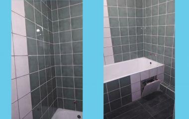 Укладка плитки в ванной и в с/у