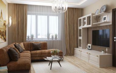 Дизайн-проект элитной квартиры