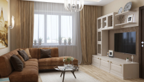 eab6db817e51251ec2bdc6f701091f07 Дизайн-проект элитной квартиры