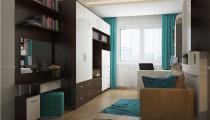 78d5df7d04088b4ef5efbb2e93442e48 Дизайн-проект 2 комнатной квартиры в Краснодаре