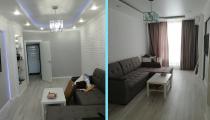 42c98ce14abc17c635ea2a5a509745f6 Ремонт 2 комнатной квартиры под ключ в Краснодаре, с перепланировкой и  дизайн проектом , жк Большой